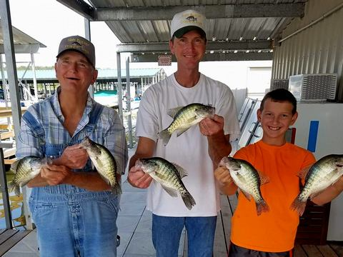 Slab Buster crappie jigs and lures